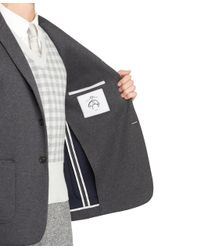 Brooks Brothers - Gray Grey Double Faced Sport Coat for Men - Lyst