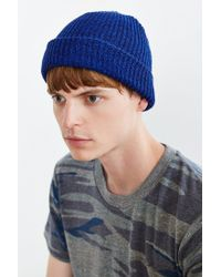 Urban Outfitters | Blue Brushed Beanie for Men | Lyst