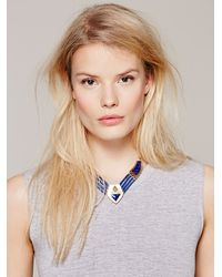 Free People | Blue Karen London Womens Wild Heart Collar | Lyst