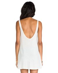 Wildfox | White Caught In The Rain Indiana Tank | Lyst