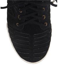 Elliott Lucca | Black Rima High Top Sneakers | Lyst