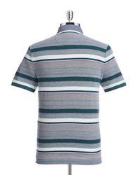 Original Penguin   Blue Birdseye Stripe Polo for Men   Lyst