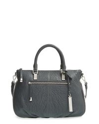 Vince Camuto | Black 'medium Riley' Leather Satchel | Lyst