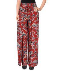 Denim & Supply Ralph Lauren - Red Casual Trouser - Lyst