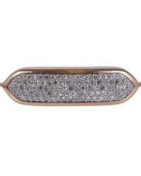 Monica Vinader - Metallic Small Rose Gold Vermeil Diamond Baja Chain Bracelet - Lyst