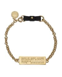 Marc By Marc Jacobs - Metallic Standard Supply Gold Tone Bracelet - Lyst