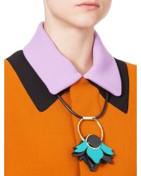 Marni - Blue Necklace - Lyst