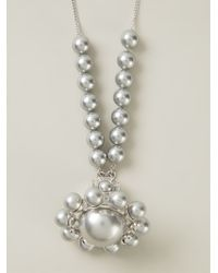Vivienne Westwood Anglomania - Metallic Orb Pendant Necklace - Lyst