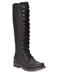 Roxy | Black Breckenridge Lace-up Boots | Lyst