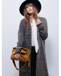 Free People | Brown Charleston Mini Messenger | Lyst