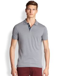 Burberry Brit - Gray Hauxton Polo for Men - Lyst