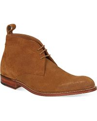 Foot The Coacher | Natural Marcus Desert Boots for Men | Lyst