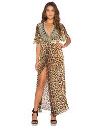Camilla - Multicolor Split-Front Twist Dress - Lyst