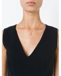 Vivienne Westwood Anglomania | Pink Rose Orbit Necklace | Lyst
