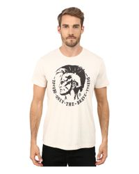 DIESEL - Natural T-ulysse T-shirt for Men - Lyst