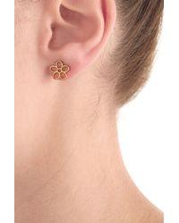 Marc By Marc Jacobs | Metallic Flower Earrings - Gold | Lyst