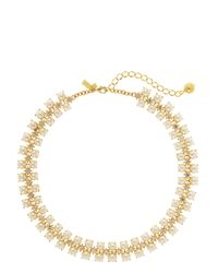 kate spade new york | Natural Twinkling Fete Collar Necklace | Lyst