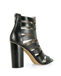 Sam Edelman - Black Heeled Sandal - Lyst