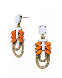 BaubleBar - Multicolor Opal Snake Chain Drops - Lyst