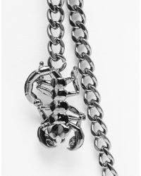 ASOS | Metallic Pocket Chain With Scorpion for Men | Lyst