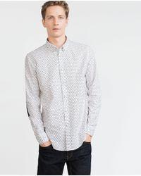 Zara | White Oxford Shirt for Men | Lyst