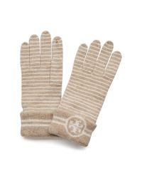 Tory Burch - Multicolor Striped Glove - Lyst