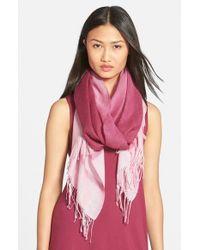 Eileen Fisher - Ombre Alpaca & Silk Scarf - Purple - Lyst