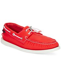 Sebago | Red Docksides Boat Shoes for Men | Lyst