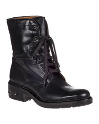 Alberto Fermani | Tolve Lace-up Boot Black Leather | Lyst