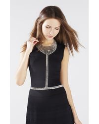 BCBGMAXAZRIA | Metallic Chain Body Piece | Lyst