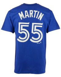 5c362e24541 Lyst - Majestic Men s Russell Martin Toronto Blue Jays Player T ...