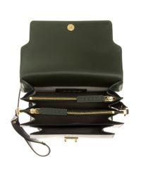 Marni - Green Trunk Leather Shoulder Bag - Lyst