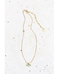 Urban Outfitters - Metallic A Little Charm Necklace - Lyst
