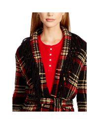 Ralph Lauren - Multicolor Plaid Wool-blend Sweater - Lyst