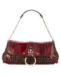Dolce & Gabbana - Red Small Flap Tote - Lyst