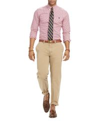 Polo Ralph Lauren | Purple Slim Fit Checked Sportshirt for Men | Lyst