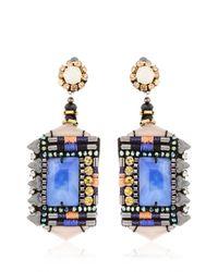 Nocturne - Blue Jamilla Cobalt Earrings - Lyst