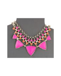 Kendra Scott | Metallic Emily Necklace | Lyst
