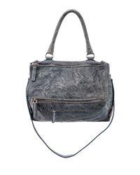 Givenchy - Blue Pandora Medium Leather Satchel Bag - Lyst