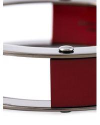 Erika Cavallini Semi Couture | Red Multi Blocks Bracelet | Lyst