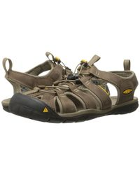 Keen   Gray Clearwater Cnx Leather for Men   Lyst