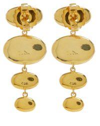 Larkspur & Hawk | Metallic Small Teal Tessa Topaz Earrings | Lyst