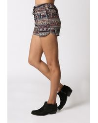 Glamorous - Blue Summer Shorts - Lyst