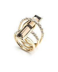 Alexis Bittar - Metallic Orbiting Layered Ring - Lyst