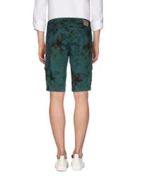 Jeckerson - Green Bermuda Shorts for Men - Lyst