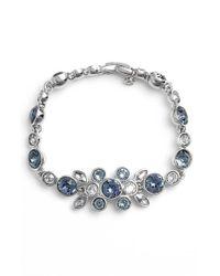 Givenchy | Blue Crystal Bracelet | Lyst