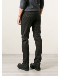 DIESEL - Black 'paily' Chinos for Men - Lyst