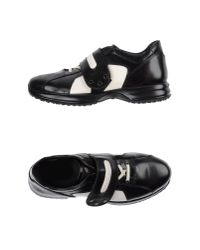 Hogan by Karl Lagerfeld - Black Low-tops & Trainers - Lyst