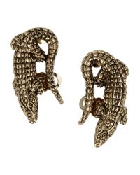 Roberto Cavalli | Metallic Earrings | Lyst