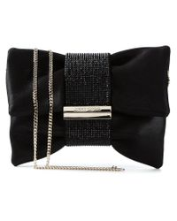 Jimmy Choo - Black 'chandra' Shoulder Bag - Lyst